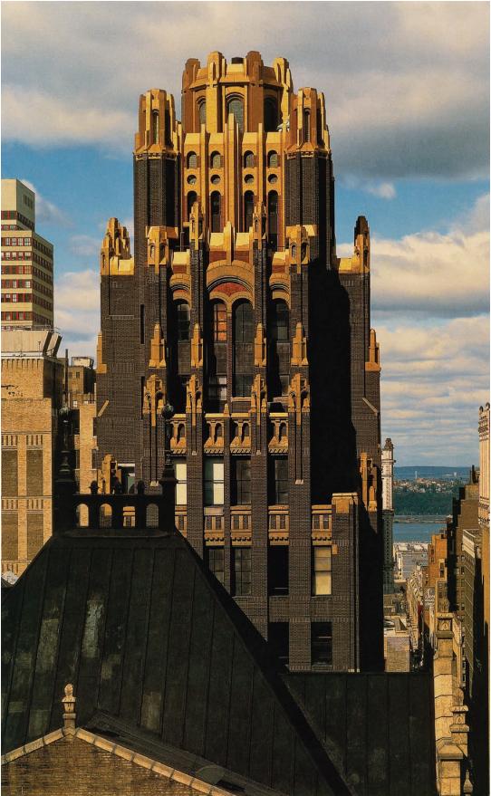 1924. Raymond Hood. American Standart Building (American Radiator Building), N.Y. City.png
