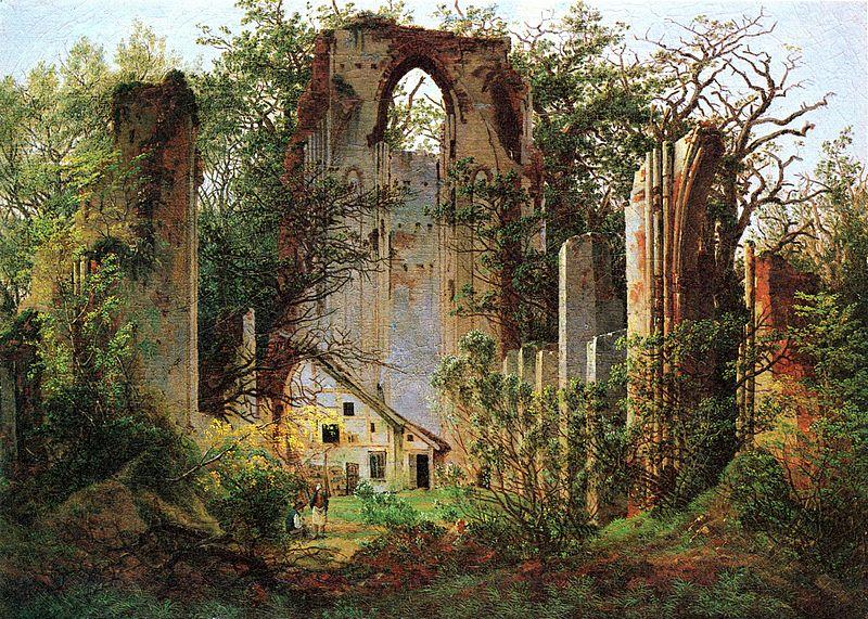 Caspar_David_Friedrich_-_Klosterruine_Eldena_(ca.1825).jpg