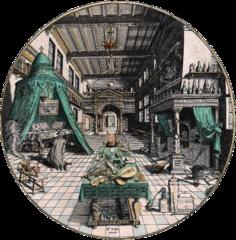 Це зображення має порожній атрибут alt; це ім'я файлу amphitheatrum_sapientiae_aeternae_-_alchemists_laboratory-2.png