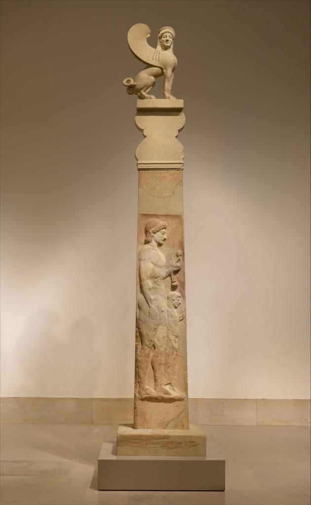 Це зображення має порожній атрибут alt; це ім'я файлу marble_stele_grave_marker_of_a_youth_and_a_little_girl_530_bce_greece.jpg